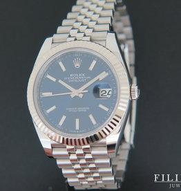 Rolex  Datejust 41 Blue Dial 126334