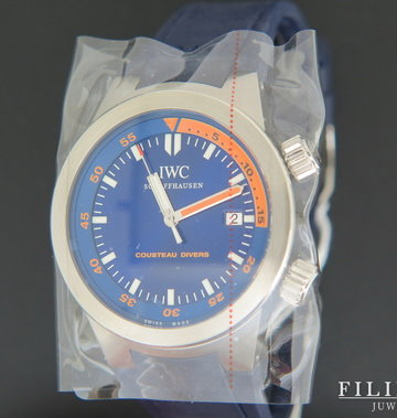 IWC Aquatimer Cousteau Divers Automatic NOS IW354806