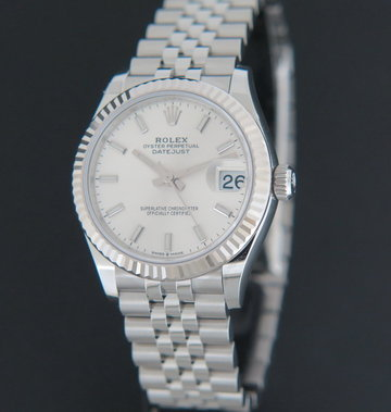 Rolex  Datejust Silver Dial 278274 NEW