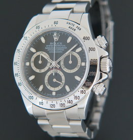 Rolex  Daytona Black Dial 116520 F-Serial