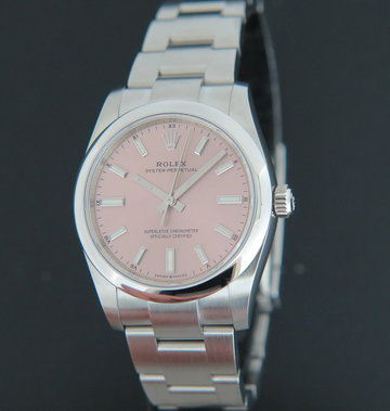 Rolex  Oyster Perpetual Pink Dial 124200 NEW MODEL