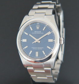 Rolex  Oyster Perpetual Blue Dial 126000 NEW