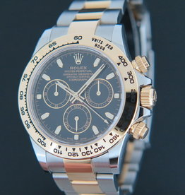 Rolex  Daytona Gold/Steel Black Dial NEW 116503