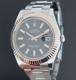 Rolex  Datejust II Black  Dial 116334