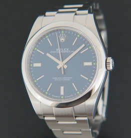 Rolex  Oyster Perpetual 39 Blue Dial 114300