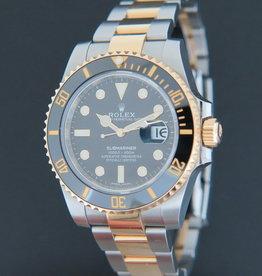 Rolex  Submariner Date Gold/Steel 116613LN 99% New