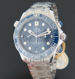 Omega Seamaster Diver 300M Co‑Axial Master Chronometer Chronograph NEW