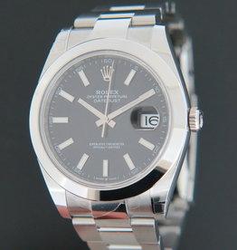 Rolex  Datejust 41 Black Dial NEW 126300