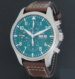 IWC Pilot's Watch Chronograph  Edition Racing Green Limited Edition NEW