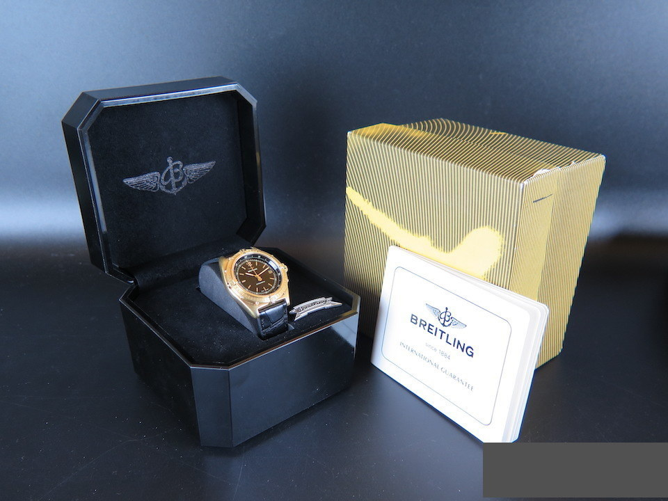 Breitling Breitling Antares Yellow Gold Automatic 81970