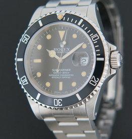 Rolex  Submariner Date 16610 X-serie Matte Dial