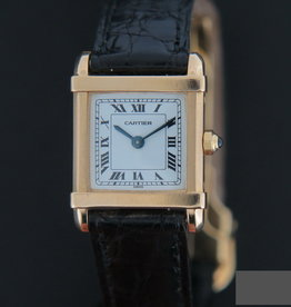 Cartier Tank Chinoise PM Yellow Gold