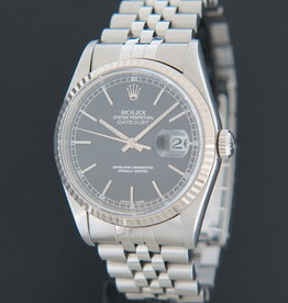 Rolex  Datejust Black Dial 16234