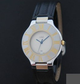 Cartier Must 21 Gold/Steel
