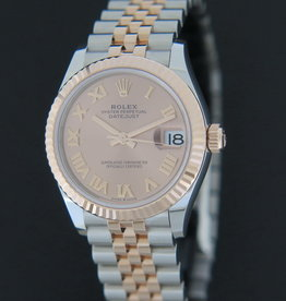 Rolex  Datejust Everosegold/Steel Pink Dial NEW 278271