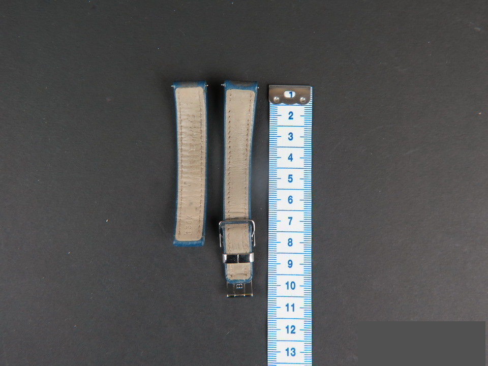 Breitling Breitling Calfskin Leather Strap 15-14 mm with folding clasp