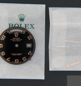 Rolex  Day-Date Black Arab Dial with Hands