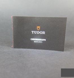 Tudor Chronograph Watches Booklet