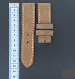 Panerai Vintage-style Calfskin Leather Strap 27 MM