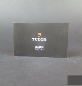 Tudor Classic Watches Booklet