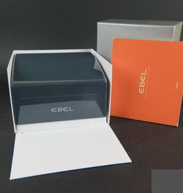 Ebel Watch box set, with manual