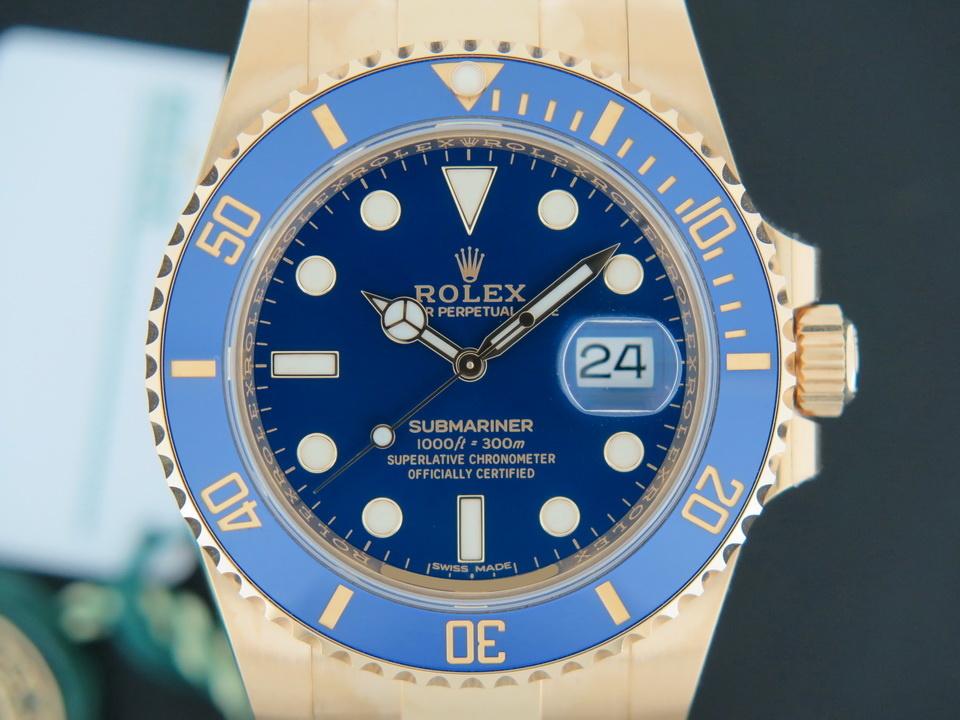 Rolex  Rolex Submariner Date Yellow Gold NEW 116618LB