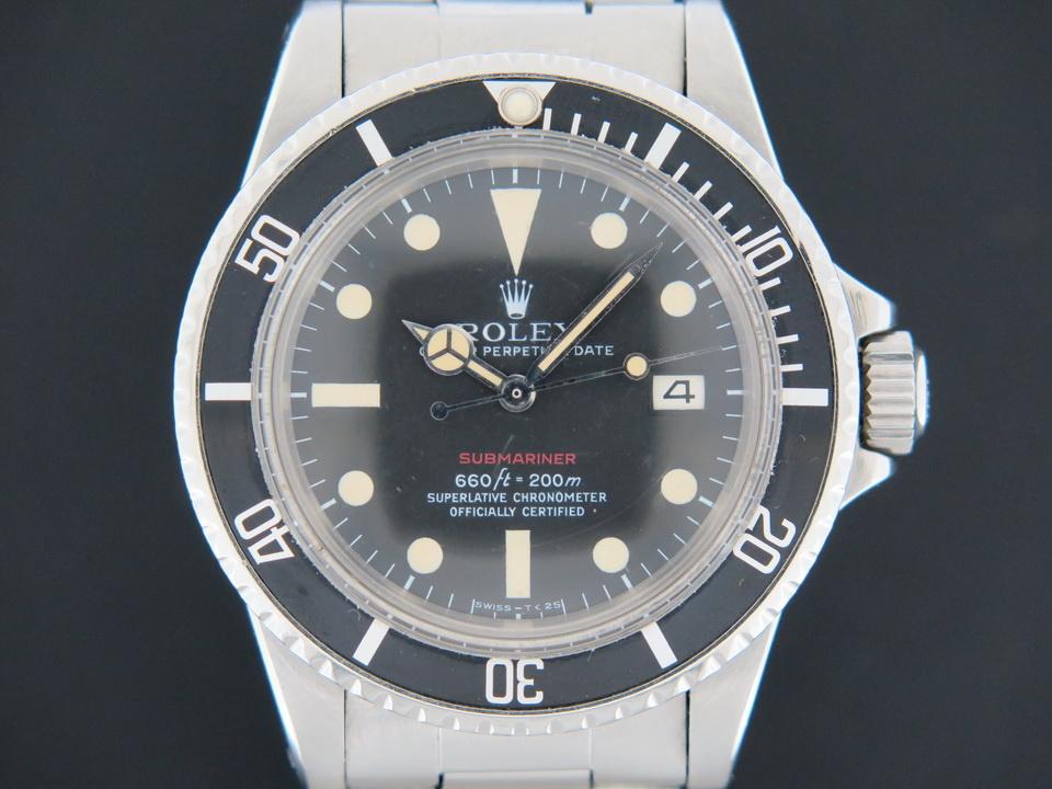 Rolex  Rolex Submariner Date 1680 Red Writing