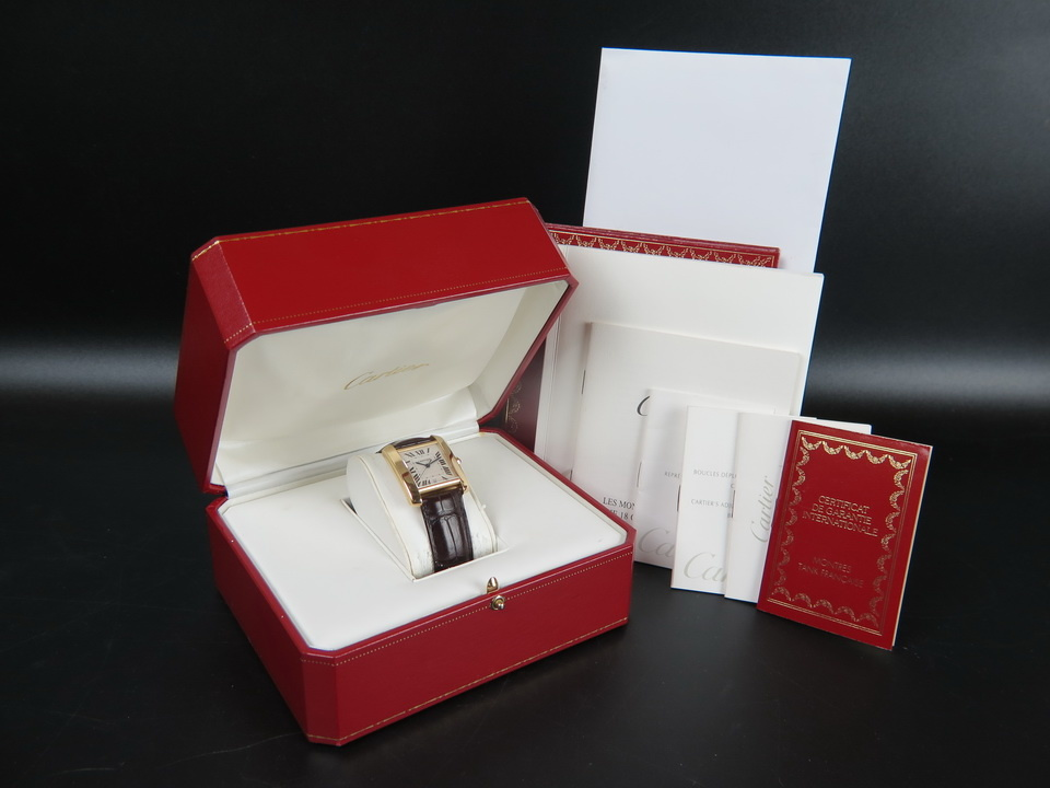 Cartier Cartier Tank Francaise LM Yellow Gold Automatic 1840