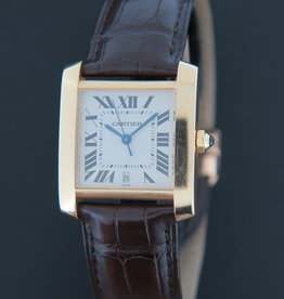 Cartier Tank Francaise LM Yellow Gold Automatic