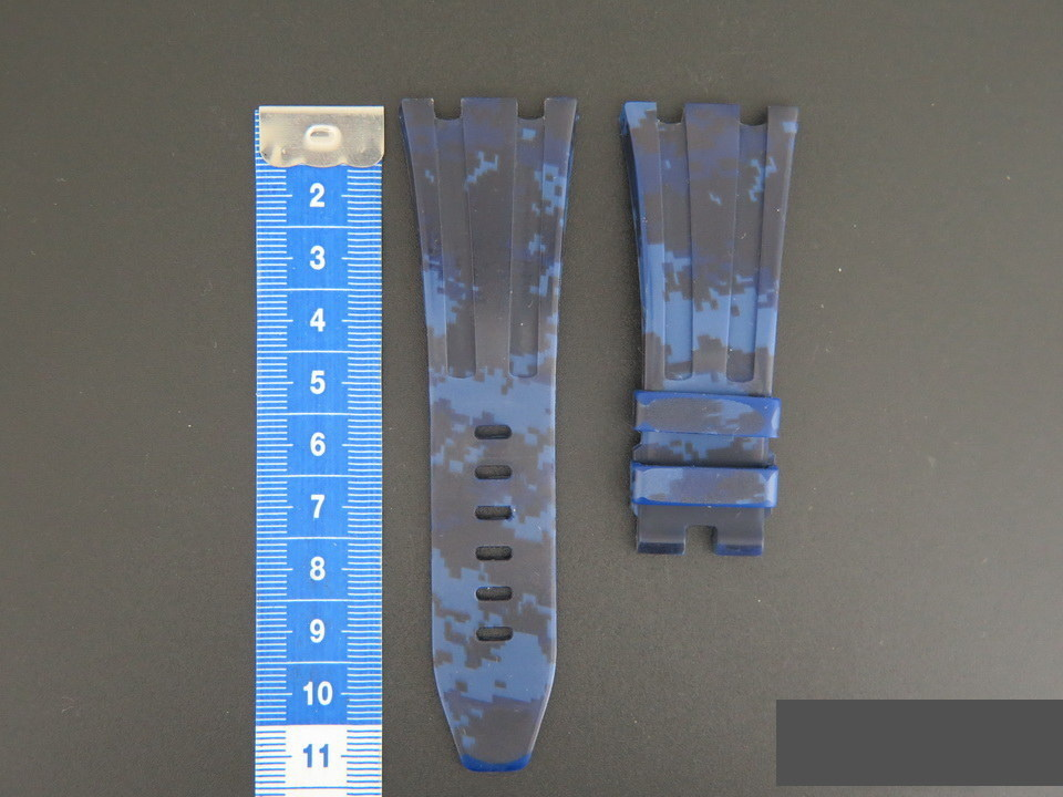 Horus Audemars Piguet Rubber Horus Strap 28MM