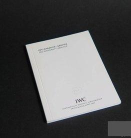 IWC Warranty Booklet