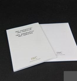 IWC Warranty Booklet & Polishing Cloth