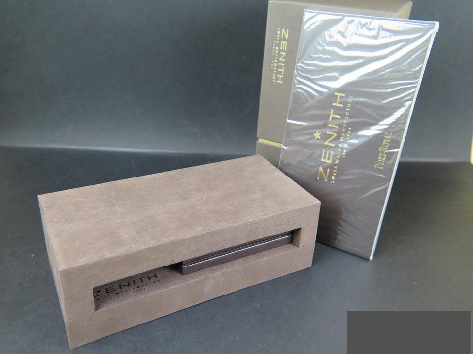 Zenith Zenith Box and booklet