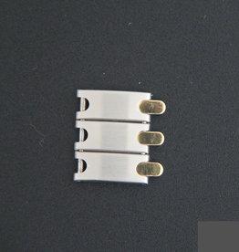 Pequignet Gold/Steel 20 MM Link