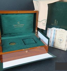 Chronoswiss Watch Box and certificates