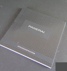 Panerai Instructions Booklet