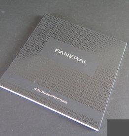 Panerai Instructions Booklet