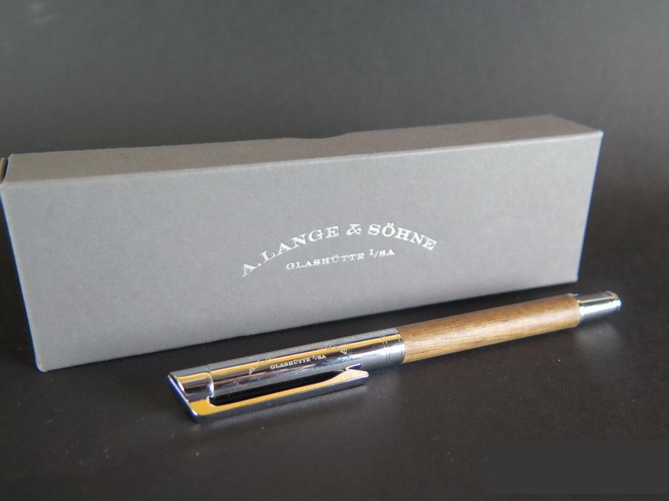 A. Lange & Sohne A. Lange & Söhne walnut wood Pen