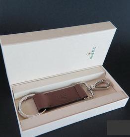 Rolex  Lederen Sleutelhanger