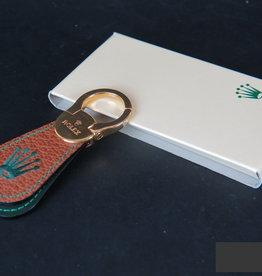 Rolex  Leather Keychain