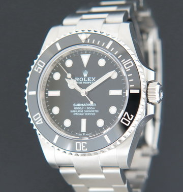Rolex  Submariner No Date 124060 NEW MODEL