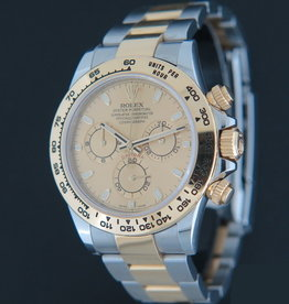 Rolex  Daytona Gold/Steel  116503  Champagne Dial