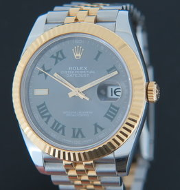 Rolex  Datejust 41 Gold/Steel Slate Dial 126333
