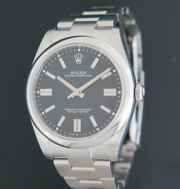 Rolex  Oyster Perpetual 41 Black Dial 124300 NEW MODEL