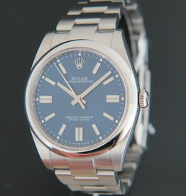 Rolex  Oyster Perpetual 41 Blue Dial 124300 NEW MODEL