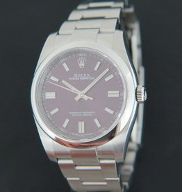 Rolex  Oyster Perpetual 36 Red Grape NEW 116000