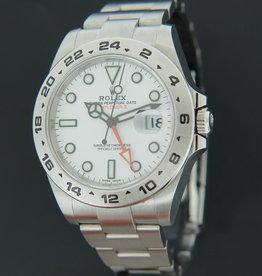 Rolex  Explorer II White Dial 216570 NEW
