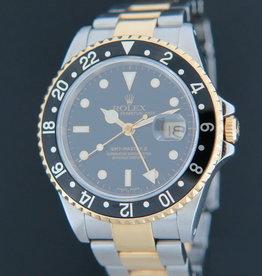 Rolex  GMT Master II Gold/Steel 16713