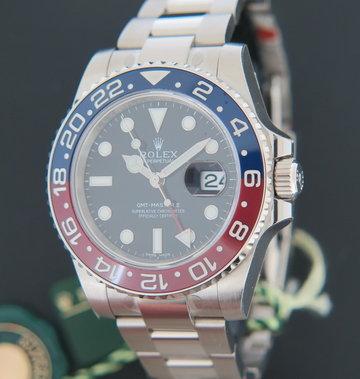 Rolex  GMT-Master II BLRO White Gold NEW 116719BLRO