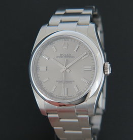 Rolex  Oyster Perpetual  Steel Dial 116000